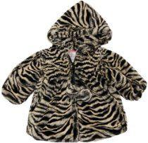 Infant Girl Super Soft Tiger Wrap Hoodie Winter Jacket/Coat - Widgeon 9M