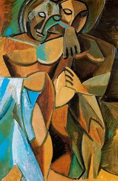 Picasso Rose Period | Pablo Picasso African-influenced Period period (1907-1909 ...vma.