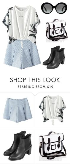 """""""The weekend"""" by sarahavamarie ❤ liked on Polyvore featuring Topshop and Versace"""