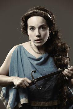 Corinne Bupp as Acacia in Blackbird Theater's new musical MYTH, premiering July 17-26. blackbirdtheater.com