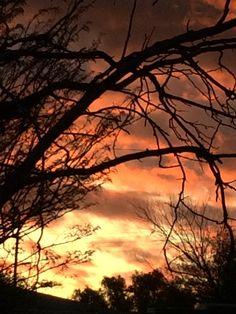 Stunning sunsets i the Karoo