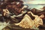 Port after Stormy Seas - Spenser's Faerie... by Evelyn Pickering De Morgan