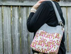 I'm so excited about this bag... it's my new favorite purse! And I must thank YOU - my readers - for picking this project for me to make for our Un-Tutorials series and giving me lots of great suggestions for sewing it.