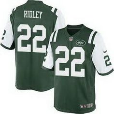mens new york jets 22 stevan ridley green team color nfl nike elite jersey