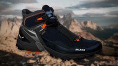 Salewa анонсировала новую пару высоких кроссовок Ultra Flex Mid GTX