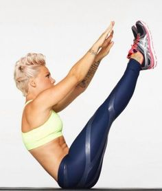 Pink doing the Teaser, this is how it should look....AWESOME! Great core Pink!