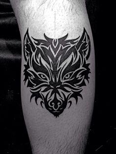 Tattoo tribal wolf design | maori tattoos | Pinterest | Wolves Wolf ...