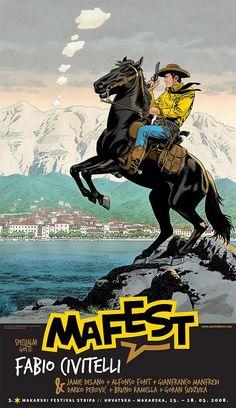 Mafest poster 2008: Fabio Civitelli