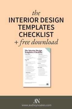 Specification sheet templates business templates - What degree do you need to be an interior designer ...