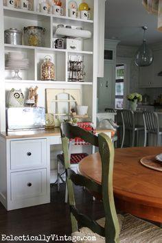 Fall Home Tour via Eclectically Vintage featuring Cost Plus World Market's Monogram Tankard Mugs >> #WorldMarket Kitchen Decor, Home Decor, Tips