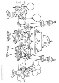 Coloring page Eid ul-Fitr - img Easy Coloring Pages, Coloring Sheets For Kids, Coloring Books, Eid Crafts, Ramadan Crafts, Poster Ramadhan, Ramadan Lantern, Islam For Kids, Drawing For Kids