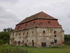 Hungary, Vasszécseny. This late baroque building was first a monastery, later a granary, built in learly 1720s.