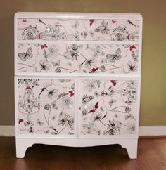 Upcycled Furniture Shabby Chic Chest of Drawers