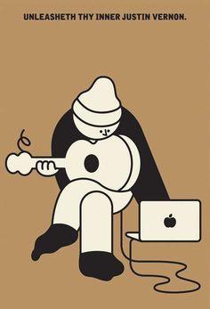Simplistic Hipster Satire Art - Rami Niemi Renders Minimalist Pop Culture Works (GALLERY)