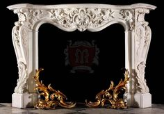 Marvelous Marble design offer unique gallery of french style mantels which can be used in luxury homes in New york