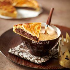 Galette des rois à la frangipane au chocolat