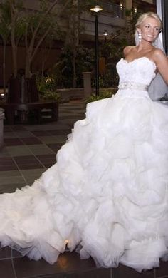 lazaro 3213 3500 size 8 used wedding dresses