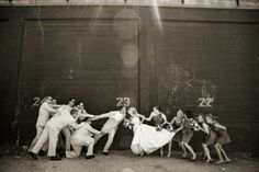 this blog/site has a ton of cute and not so cute wedding picture ideas