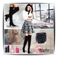 """""""SheIn!"""" by shikha7710 ❤ liked on Polyvore featuring Chicwish, Yves Saint Laurent and 100% Pure"""