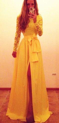 Long Sleeve Lace Prom Dress,Long Prom Dresses,Charming Prom Dresses,Evening Dress, Prom Gowns, Formal Women Dress,prom dress