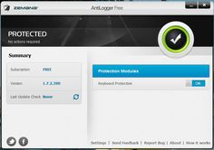 DICA: Zemana AntiLogger Free, a protecção começa no teclado