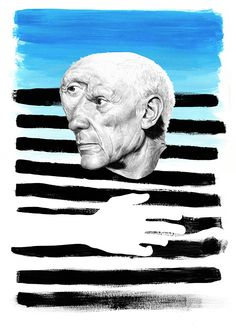 Pablo Picasso drawing dibujo per Chamo San Pablo Picasso Drawings, Frida And Diego, Famous Artists, Drawing People, Art World, Traditional Art, Art Blog, Cool Drawings, Female Art
