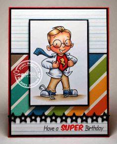 SugarPea Designs My Hero by Jenny Peterson