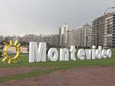 Vista del barrio Pocitos - Montevideo, Uruguay