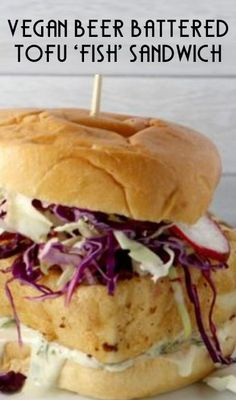 Welcome to the Miratel blog for our Meatless Monday vegan recipe share. Miratel took the Meatless Monday pledge to support reducing meat consumption 15% by eliminating it one day per week to preser... Vegan Foods, Vegan Vegetarian, Vegetarian Recipes, Tofu Recipes, Eating Vegan, Tofu Sandwich, Vegan Sandwiches, Sandwich Recipes, Vegan Food Truck