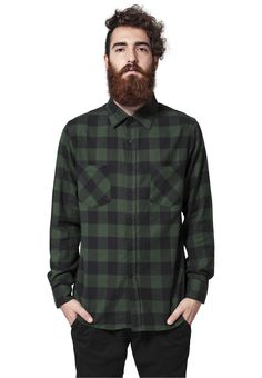 Checked Flanell Shirt-TB297