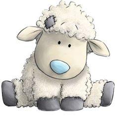 Облачко Кудрявая овечка, которая с удовольствием свернется клубочком рядом с тобой, чтобы тебе было тепло и уютно