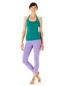 hyde yoga emerald brooklyn halter & lilac wren legging   summer 2015 available on www.yogahyde.com #hydeyoga #yogaclothes #organicyoga