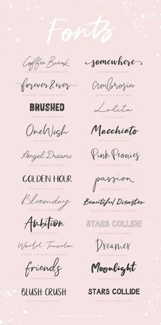 The Ambition Kit - Fonts Collection + Collage Graphics for Commercial Use - Fon. - The Ambition Kit – Fonts Collection + Collage Graphics for Commercial Use – Fonts collection f - Brush Script, Brush Lettering, Lettering Tattoo, Tattoo Writing Fonts, Cursive Fonts For Tattoos, Tattoo Script, Tattoo Handwriting Fonts, Lettering Styles, Font Names