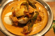 Egg curry masala |