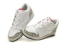 buy online d7d40 f9eda New Air Jordans 1 Low Phat-BlancVarsity Red Rouge-Noir-Cement Gris