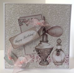 Vintage Ephemera collection card designed by Julie Hickey.