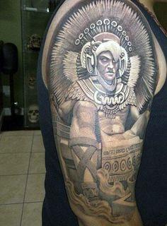125 Best Aztec Tattoo Designs for Men - Wild Tattoo Art Aztec Tattoos Sleeve, Cool Tribal Tattoos, Tattoos For Women Half Sleeve, Best Sleeve Tattoos, Tattoos For Guys, Tattoo Guys, O Tattoo, Wild Tattoo, Tattoo Motive