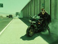 matrix-reloaded-movie-motorcycles-rideapart Famous Movies, Good Movies, Sf Movies, Sherlock Holmes, Trinity Matrix, Ducati 996, Man In Black, The Matrix Movie, Matrix Reloaded