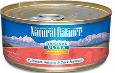 Natural Balance Pet Foods NA00019 Whole Body Health Calamari Salmon Duck Formula Canned Cat Food * Check out this great product. (This is an affiliate link and I receive a commission for the sales) #MyCat