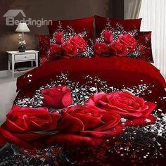 Lovely Purple Gothic Bedding