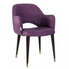 Интернет-магазин LOFT LAB осуществляет продажу Полукресла кресло martin темно-фиолетовый с прострочкой +латунь, с доставкой по России. Низкая цена. Гарантия. Онлайн-заказ.