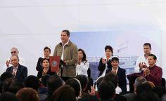 El presidente Enrique Peña Nieto y el gobernador Rafael Moreno Valle inauguraron el Hospital de Traumatología y Ortopedia