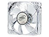 Deepcool XFAN 80 mm Transparent Cooling Fan with Red LED (PC)by Deepcool1054% Sales Rank in Video Games: 201 (was 2321 yesterday)Platform: Windows Vista / XP / 7(6)Buy: Rs. 450.00 Rs. 350.00 (Visit the Movers & Shakers in Video Games list for authoritative information on this product's current rank.)