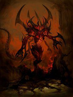 Diablo Concept from Diablo III