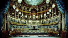 La salle de l'Opéra Royal de Versailles.