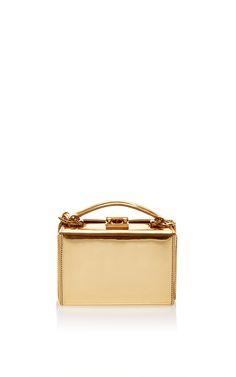 Grace Mini Box In Mirror by Mark Cross for Preorder on Moda Operandi