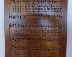 Holy, Holy, Holy hymn carving on Maple wood - Edit Listing - Etsy Holy Holy, Verses, Sheet Music, Prayers, Carving, Wood, Etsy, Madeira, Woodwind Instrument