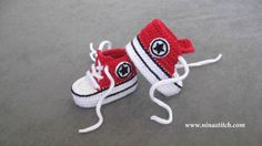Baby Crochet Shoes by NinaStitch on Etsy