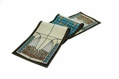 """Rennie & Rose Glass Tree Table Runner, 76-Inch by Rennie & Rose. $29.95. Rennie & Collection-Multi Color-Table Runner 76"""". One Sided Design. Machine wash cold, lay flat to dry. Dry clean for best results. Poly/cotton/acrylic. The Rennie & Rose Arts and Crafts Collection brings the detail and artistry of a much beloved and timeless era to any home decor. Patterns inspired by flora and fauna, tiles, and stained glass use both bold and delicate forms and colors to transf..."""