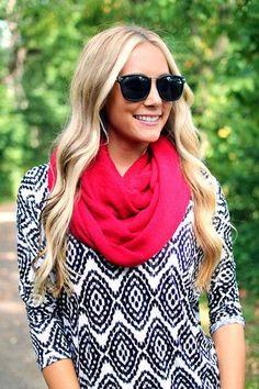 Essential Knit Infinity Scarf